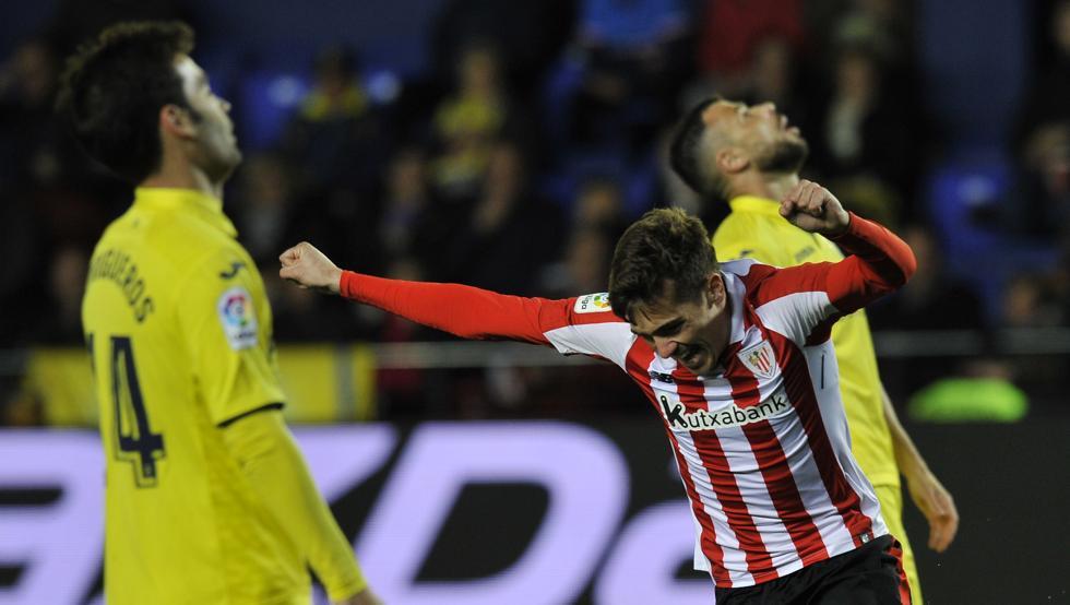 Iñigo Córdoba marcó el primer gol el pasado lunes ante el Villarreal