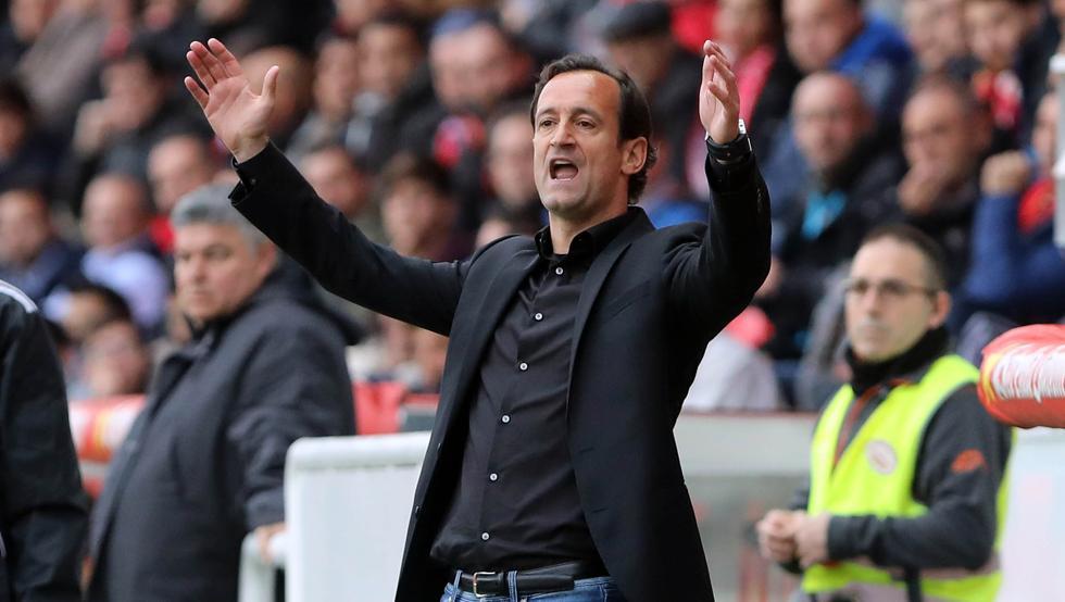 Joseba Etxeberria ahora es entrenador del Tenerife
