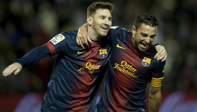 """Xavi revela qué """"le pido una y otra vez a Messi"""""""