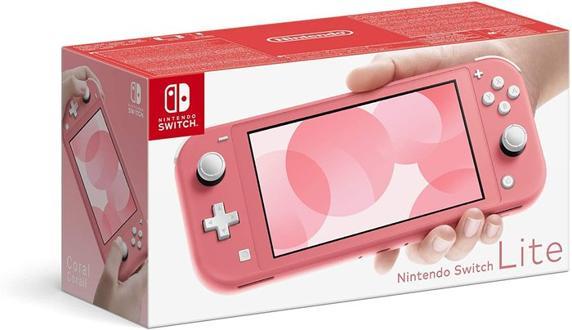Nintendo Switch Lite Coral