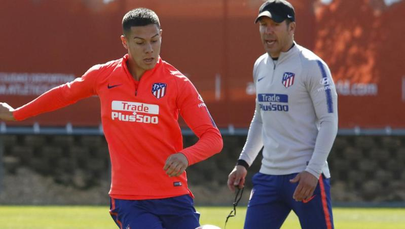 Nehuén Pérez espera regresar al Atlético de Madrid