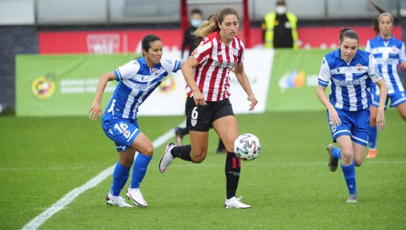 Monente da la victoria al Athletic femenino en su estreno liguero ante el  Deportivo