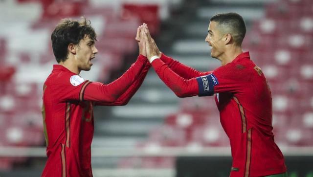 7-0: Cristiano y Joao Félix cierran el festival de Portugal ante Andorra
