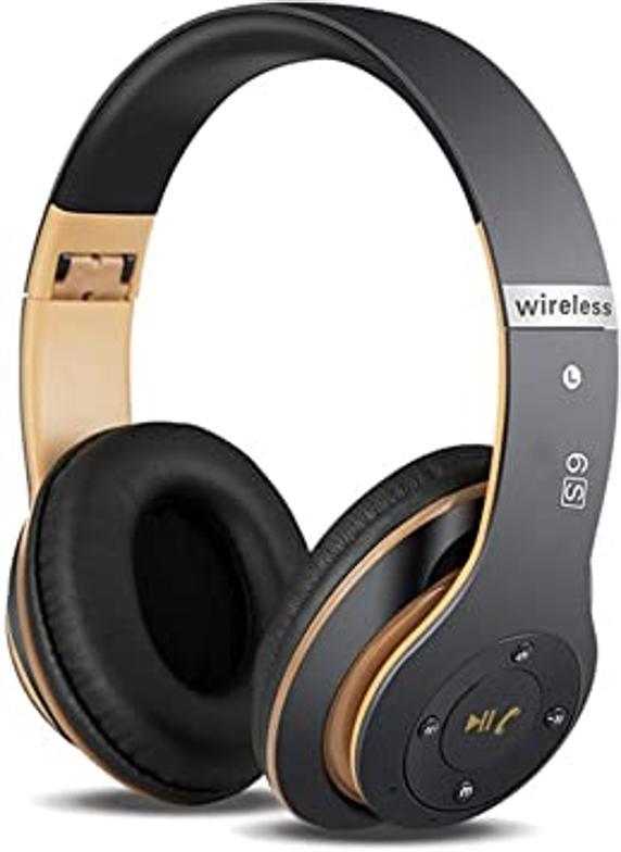 Los clásicos auriculares de diadema, pero esta vez olvídate de cables.
