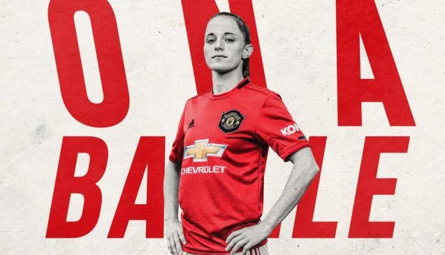 La catalana Ona Batlle, de 21 años, nueva jugadora del Manchester United