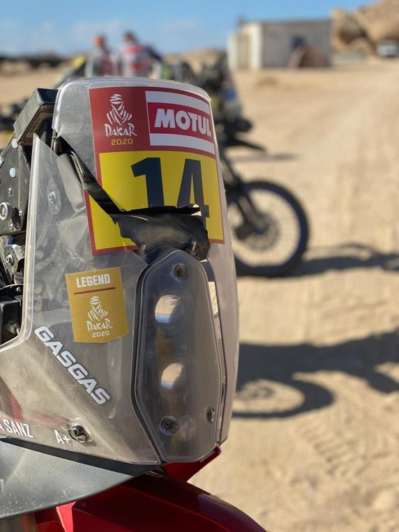 Así ha terminado Laia Sanz la segunda etapa y tendrá que hacer la tercera en el Dakar