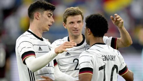 7-1: Festival de Alemania antes de su gran duelo contra Francia