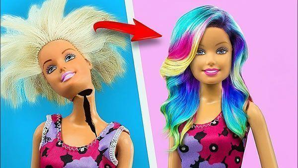 17 trucos locos para tu barbie