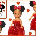 Disfraz de Minnie mouse para Nancy