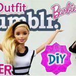 Falda de tirantes con Blusa para barbie