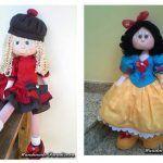 Patrón para muñecas de tela