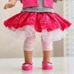 DIY Falda bailarina para tu muñeca