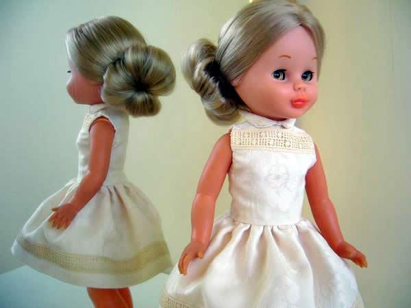 Patrón gratis del vestido estilo Grace Kelly