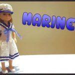 Vestido Marinera a crochet para Nancy