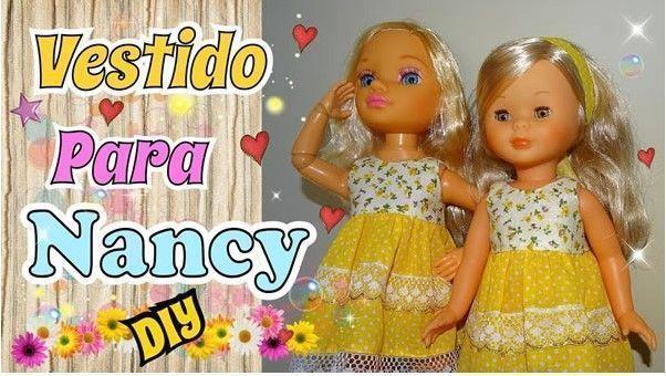 Vestido sencillo para la muñeca Nancy