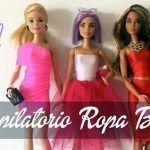 Ropa para tu muñeca Barbie Sin coser