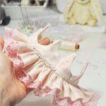Patrón de vestidos básicos y fáciles a muñecas