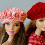 Boina a crochet para Barbie