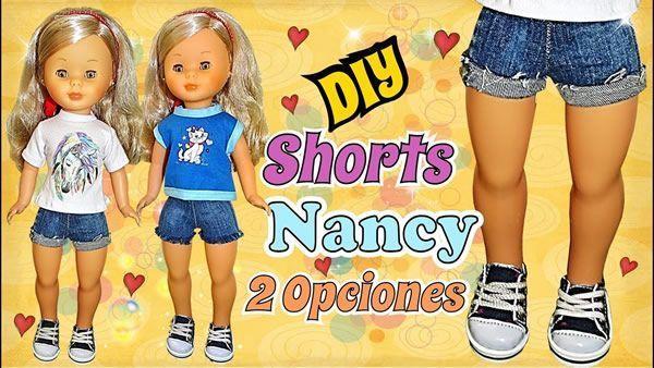 DIY Shorts para la muñeca Nancy