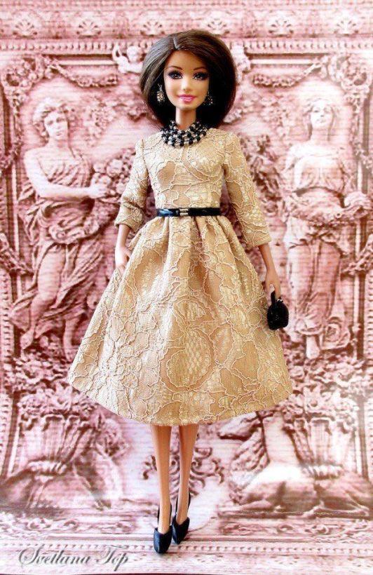 Vestido de fiesta para Barbie