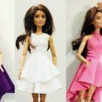 Vestidos para la muñeca Barbie sin coser