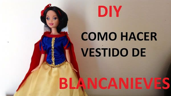 Transforma tu muñeca en Blancanieves