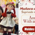 Muñeca de trapo en Anne With Patrón y tutorial