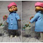 Abrigo para muñeca con patrón gratis