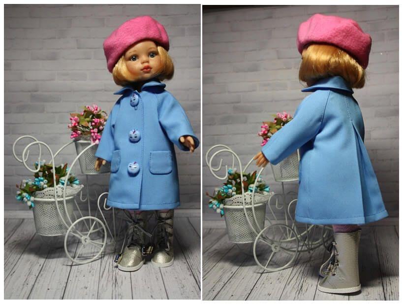 Abrigo para muñeca