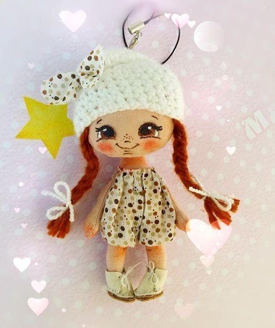 Doll gorrito de lana blanco