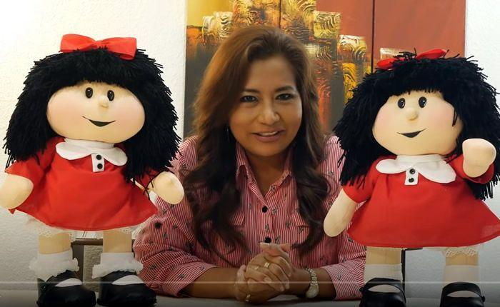 DIY Muñeca de tela Mafalda patrón y paso a paso