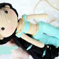 Muñeca princesa Jazmín Amigurumi paso a paso