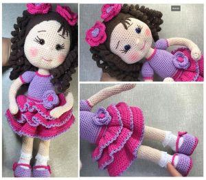 DIY Muñeca amigurumi Angi paso a paso