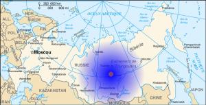 Mapa del evento de Tunguska e1340098550579 300x153 Tunguska, el misterio continúa