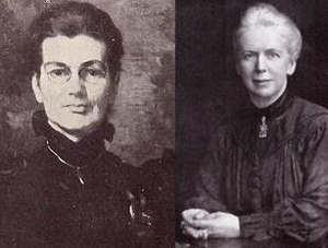 Annie Moberly y Eleanor Frances