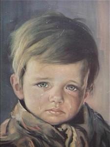 Los niños llorones, los cuadros malditos