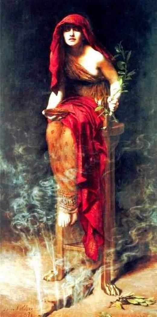 L'Oracle de Delphes - Célèbres prophètes du passé