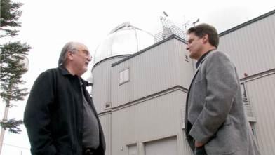 Tom Horn y Cris Putnam en el VATT LUCIFER, el telescopio del Vaticano en busca de vida extraterrestre