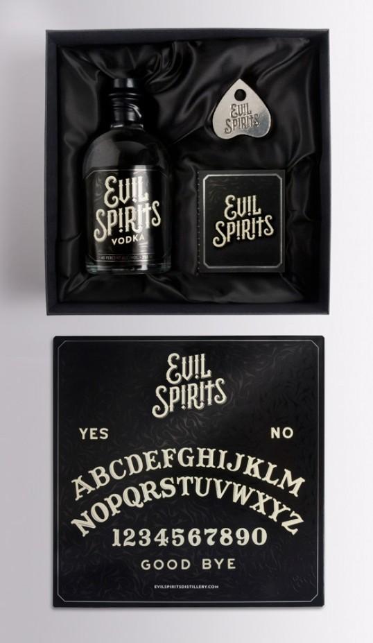 Evil Spirits Vodka 1 - Evil Spirits Vodka, une combinaison parfaite d'alcool et de Ouija pour attirer le mal