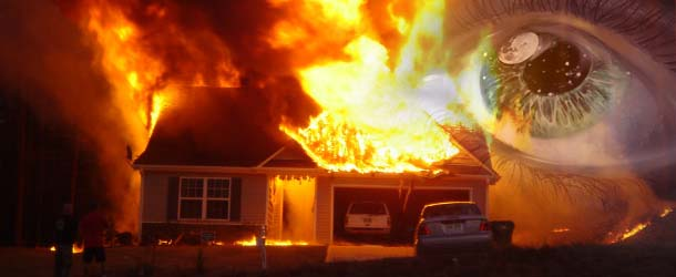 Una niña salva a su familia de un incendio mediante una premonición