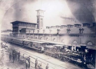 Tren fantasma El tren fantasma de Lincoln
