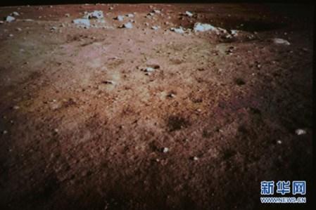 Suelo lunar marron El rover lunar chino revela que Estados Unidos no pisó la Luna
