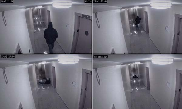 ataque fantasma Se reabre el debate sobre el ataque fantasma captado por una cámara de seguridad