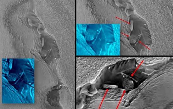 NASA estructuras extraterrestres Marte