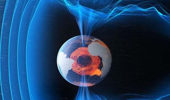 Inversión polos magnéticos Tierra