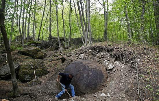 Bosnia misteriosa esfera gigante civilización avanzada