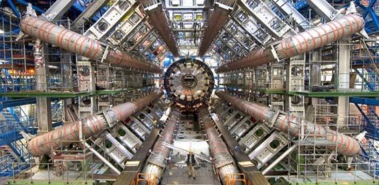Gran Colisionador de Hadrones gran terremoto