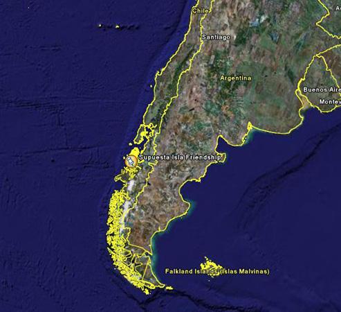 amitié misteriosa isla chili - Amitié, l'île mystérieuse du Chili habitée par des extraterrestres
