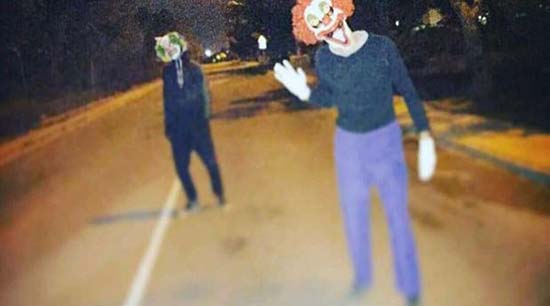Payasos Asesinos La Purga noche Halloween