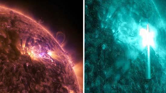 Tormenta solar amenaza Tierra